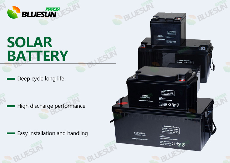 2V 2000AH Solar Battery aa Rechargeable