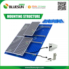 Roof Solar Panel Mounting Structure System