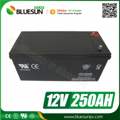 12v 250ah nickel cadmium rechargeable battery