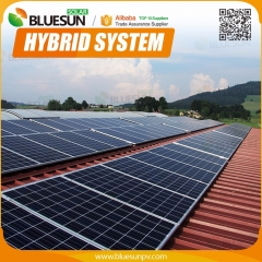 50KW pv solar system connect to grid and with battery backup for commercial use
