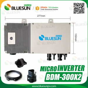 Best Manufacturer Micro-inverter Grid Tied Solar System Micro Inverter 600w-Bluesun