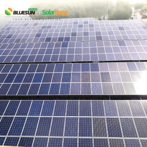 300KW grid tied solar power system power plant industrial commercial use reduce electricity bill