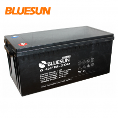 Bluesun AGM Battery 12V 200AH Electronic Batteries For Home Solar System