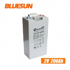 2V 200ah AGM best rechargeable battery type