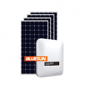 Grid Tied 5KW Solar System 5KVA Solar Panel System 5000W Home Kit Photovoltaic Panel 5 KW